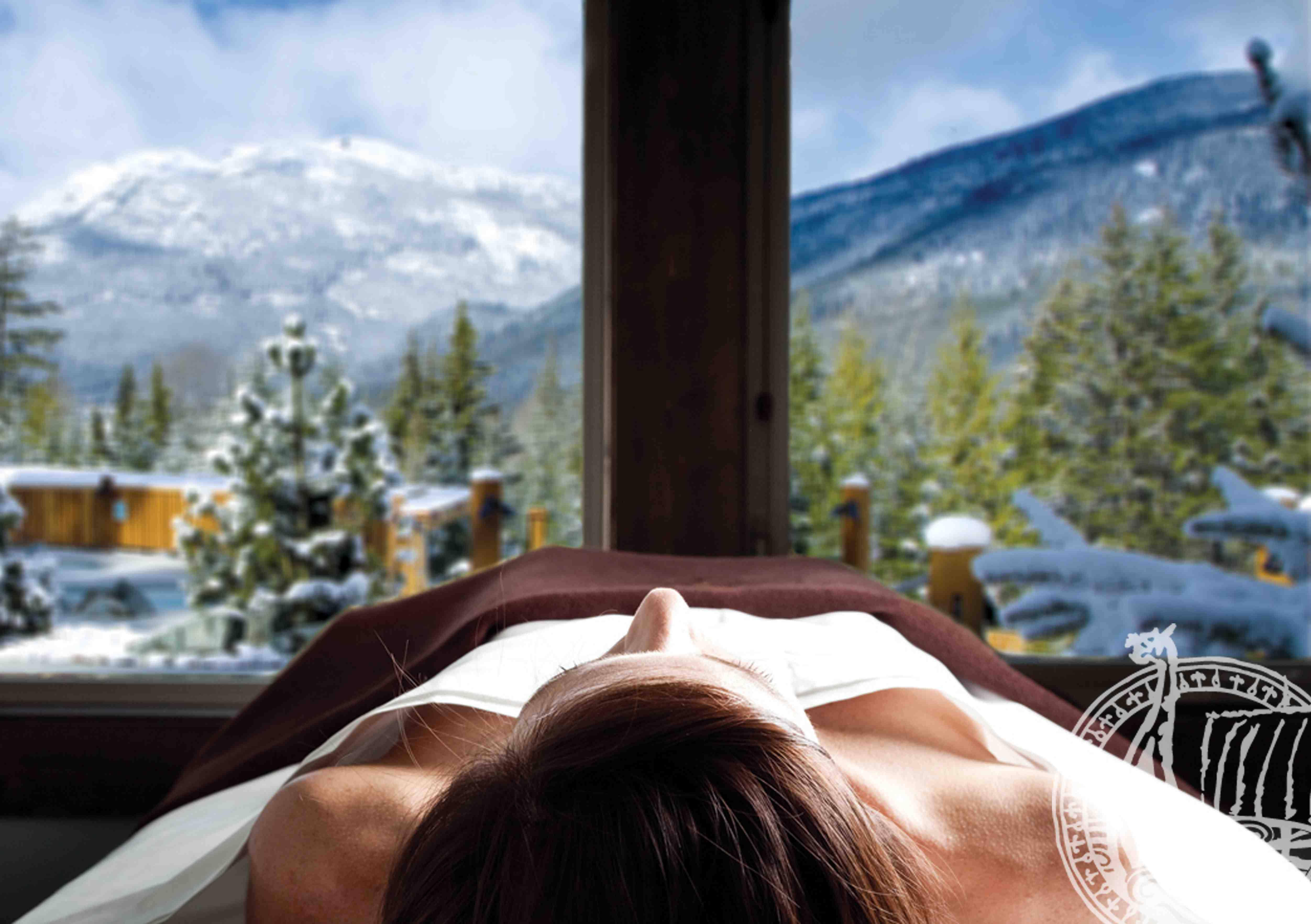 Relax at the Scandinave Spa Whistler, (EnjoyWhistler.com)