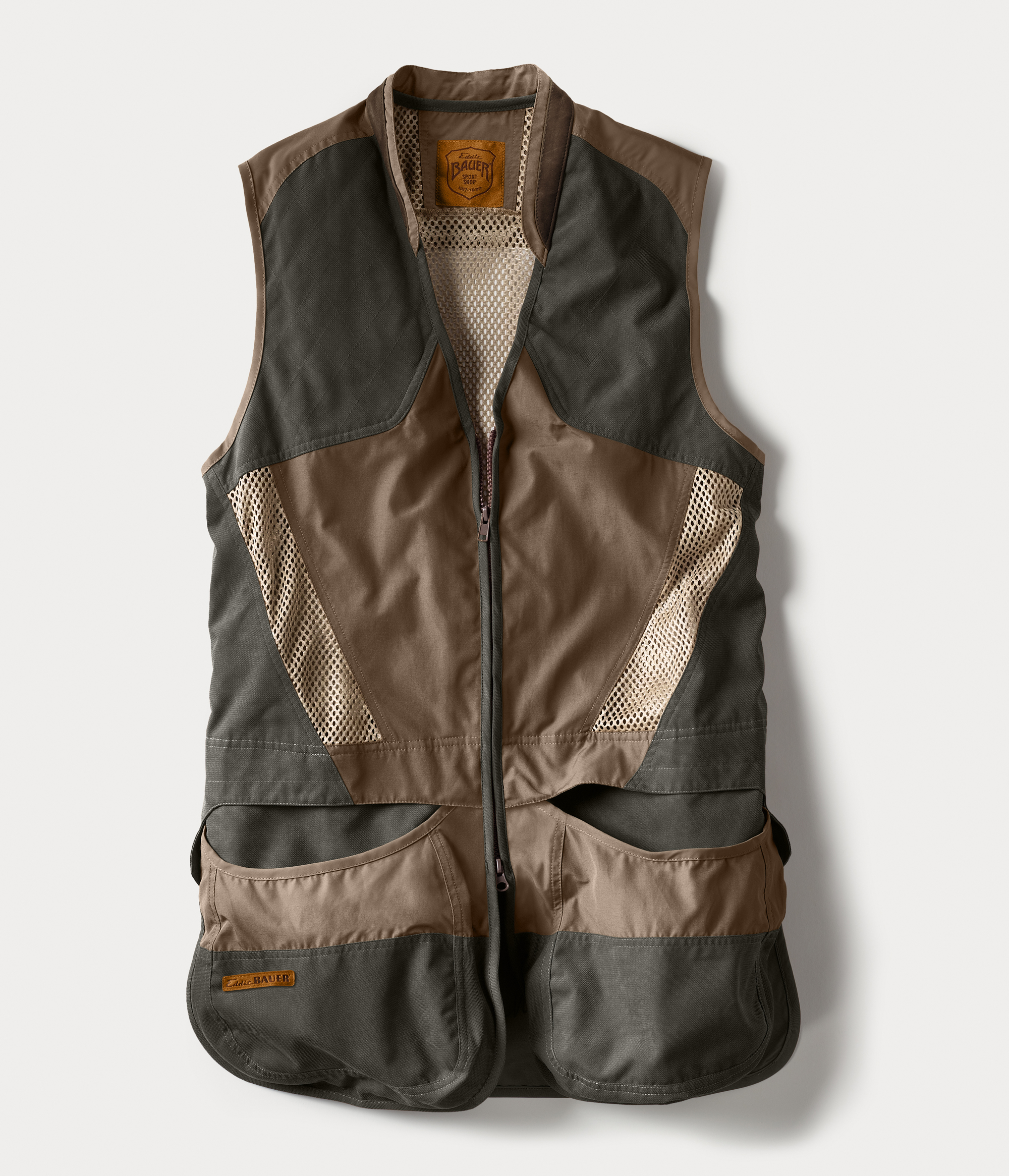 Clay Break Shooting Vest - Acorn