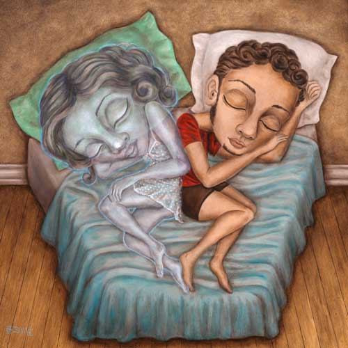 Sleeping With Your Ghost by Brandon Maldonado