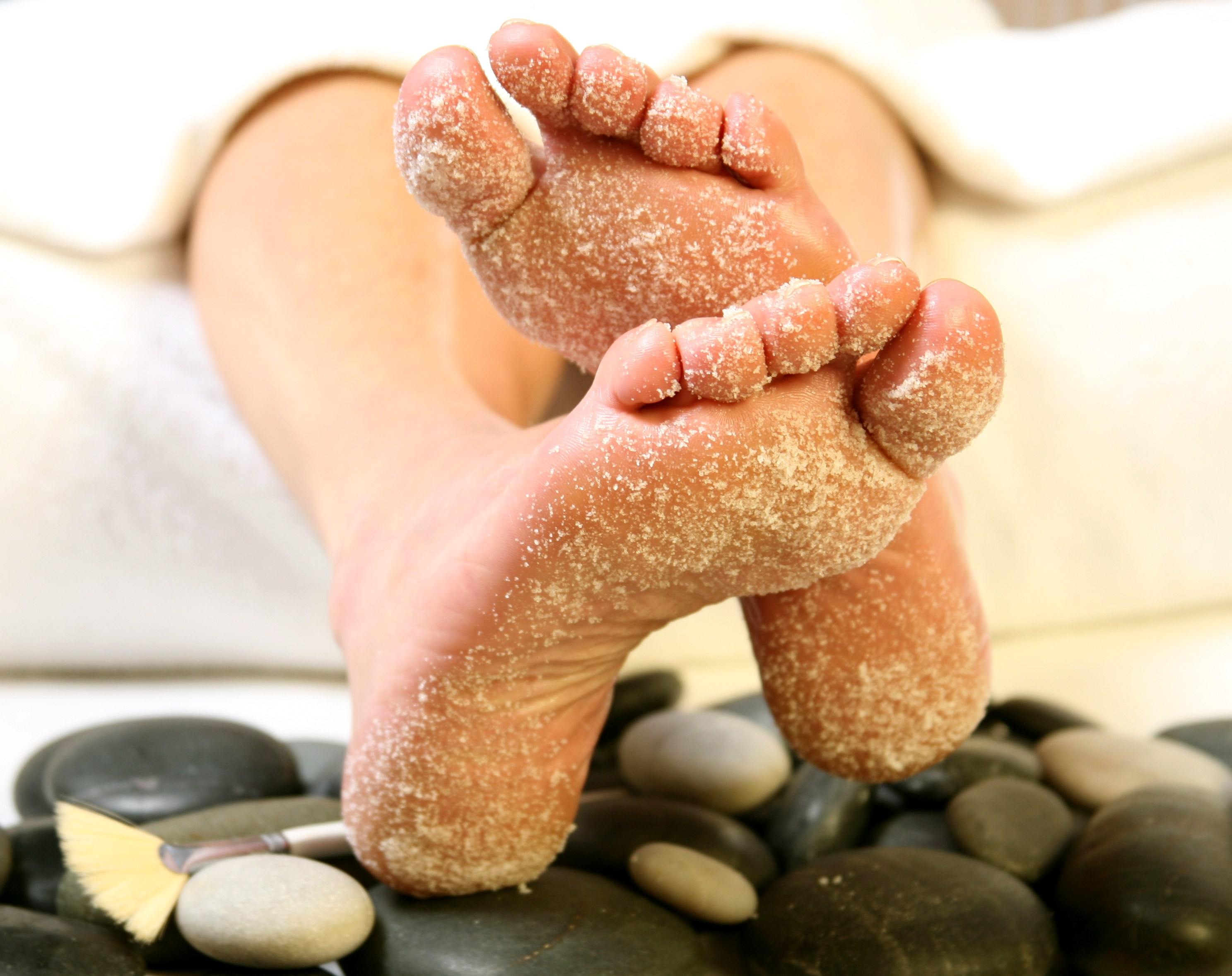 Foot scrub therapy (photo (c) john S. Vater)