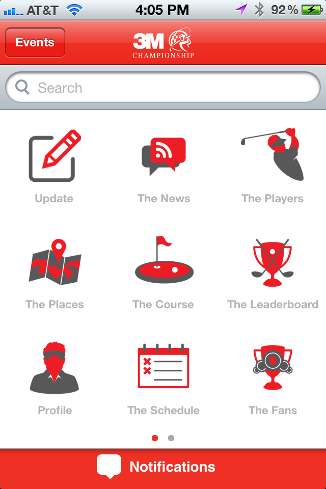 The Official 3M Championship Mobile App