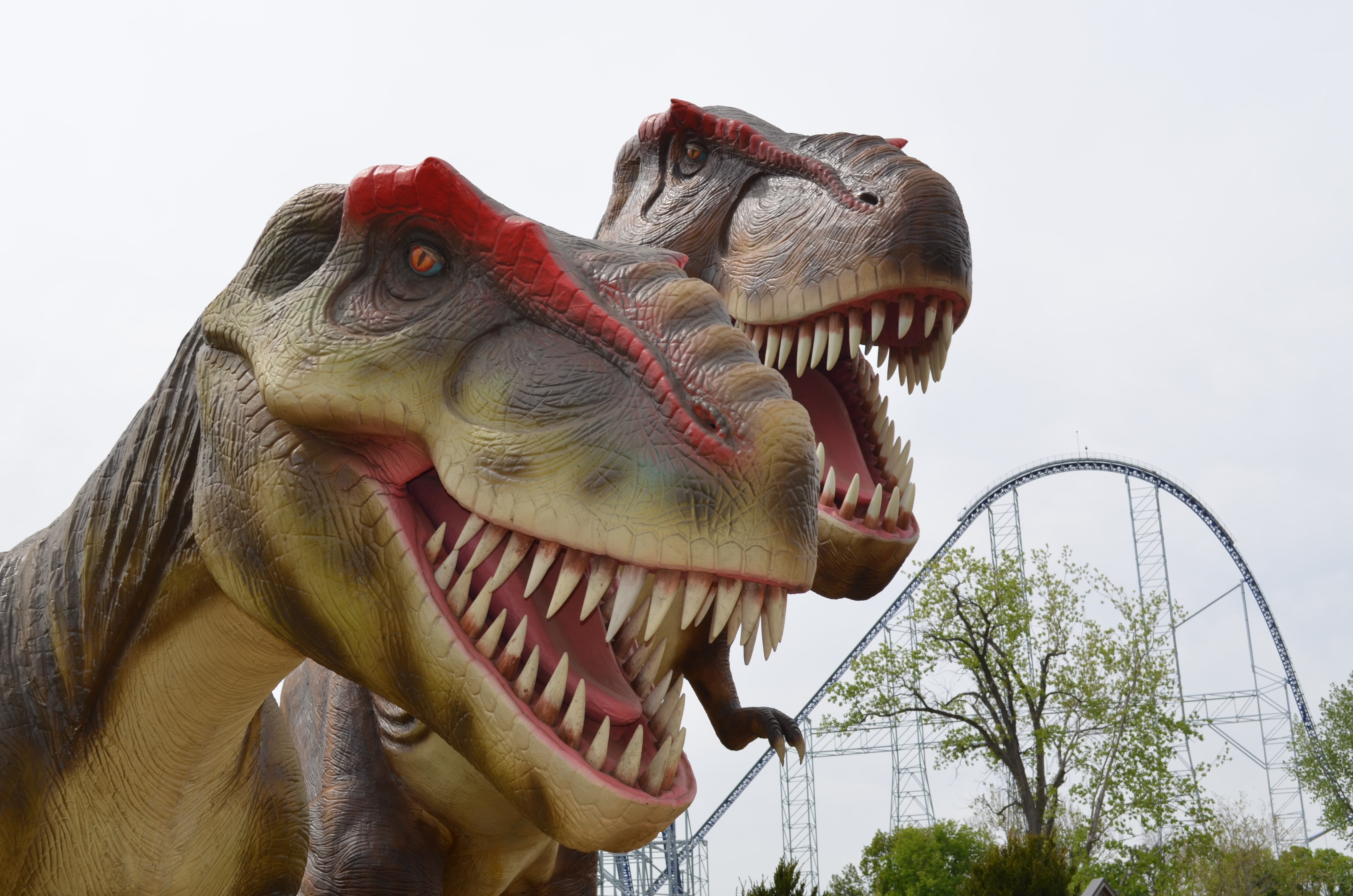 "Cedar Point Amusement Park introduces ""Dinousaurs Alive!"""