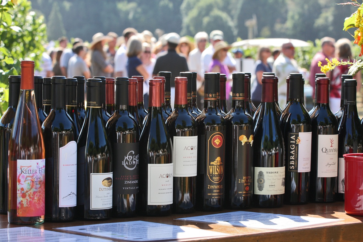 So much wine, so little time, over Labor Day Weekend, for Sonoma Wine Country Weekend. Photo by Melania Mahoney.