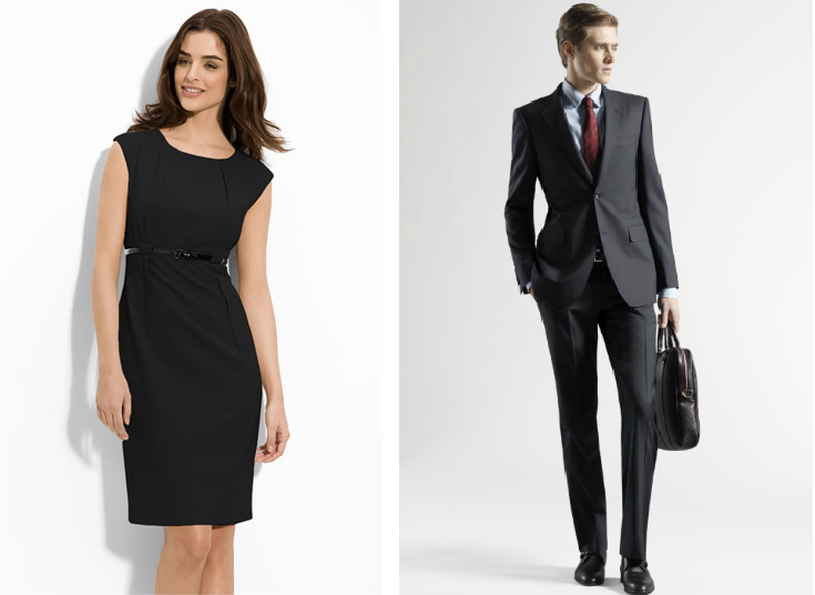 Dress for success with stylish interview attire available at Legends Outlets Kansas City at up to 65 percent off every day retail prices.