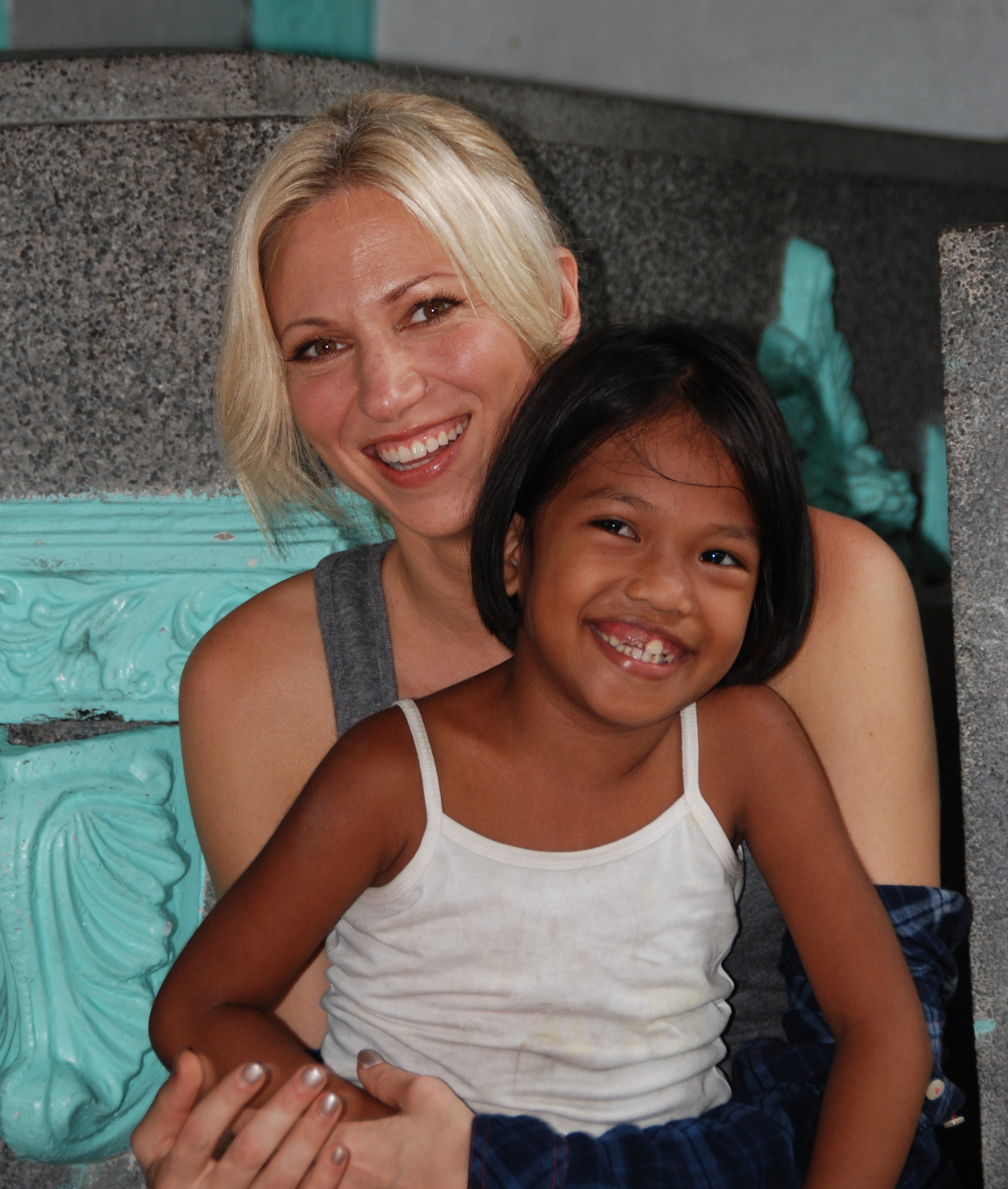 "Singer Debbie Gibson donated her $50,000 winnings from ""The Celebrity Apprentice"" to Children International."
