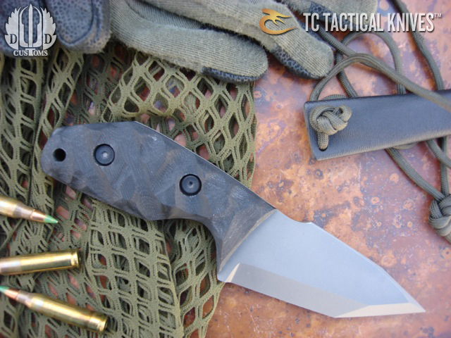 Tom Clarke Titanium Knife