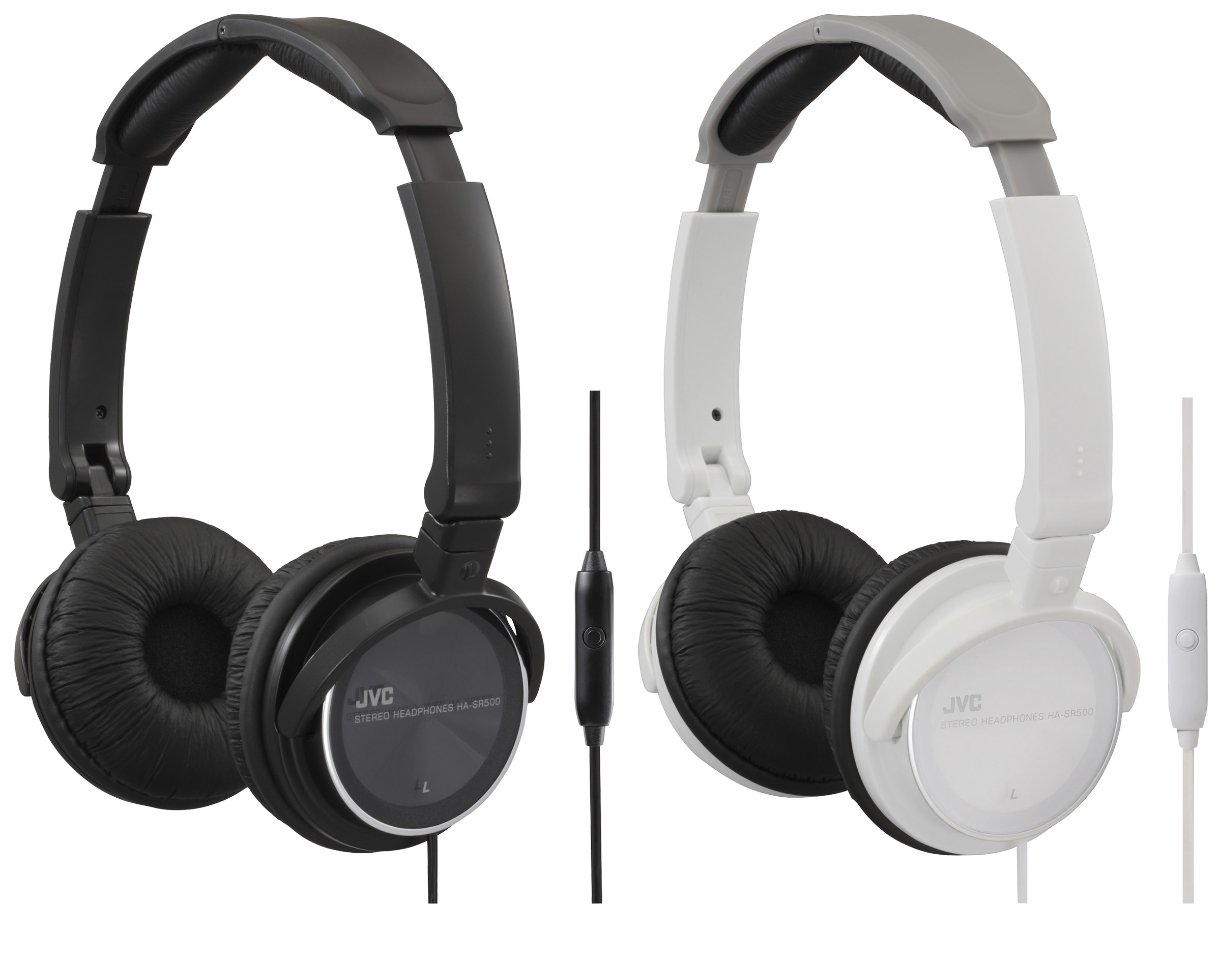 JVC HA-SR500 Foldable Headphones.