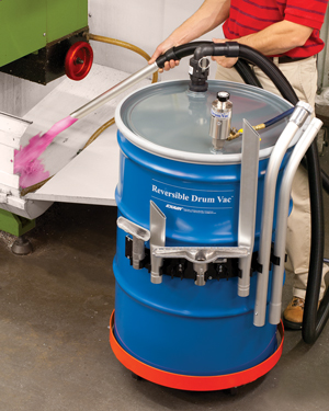 EXAIR's New Premium Reversible Drum Vac System