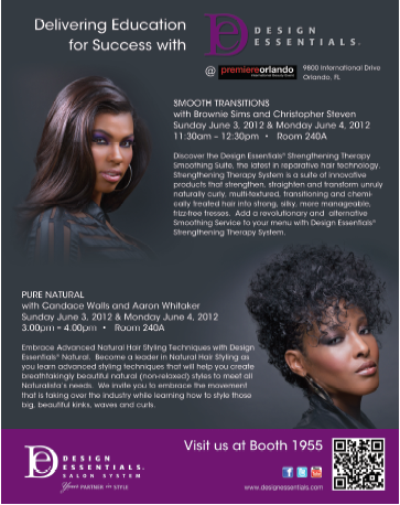 Next Design Essentialsr Summer Show Stop is Premier Orlando to Educate Pro Community on Textured Styling, June 3-4