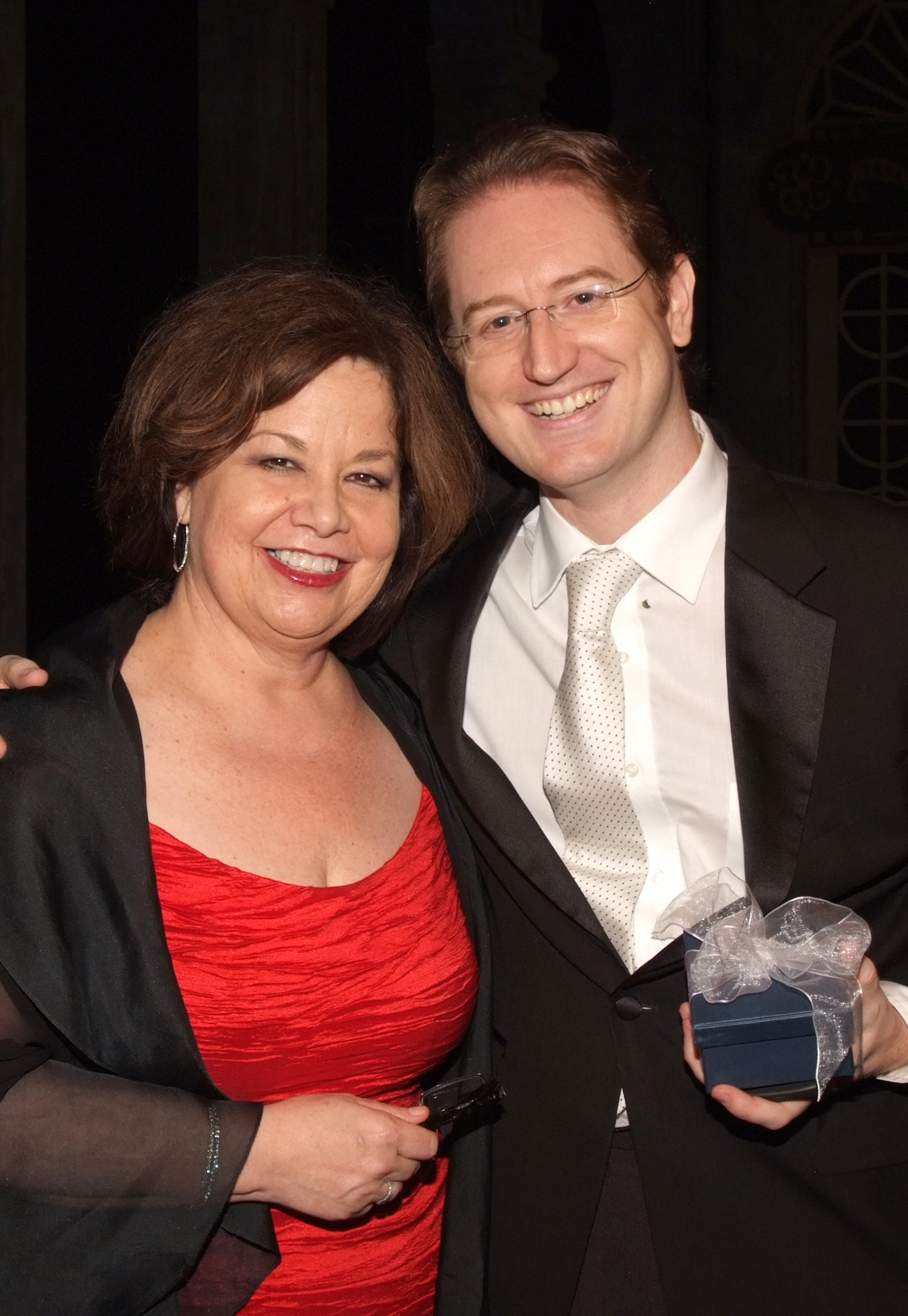 Susan T. Danis with Maestro Ramon Tebar at Florida Grand Opera's annual gala, Nov. 17, 2012.