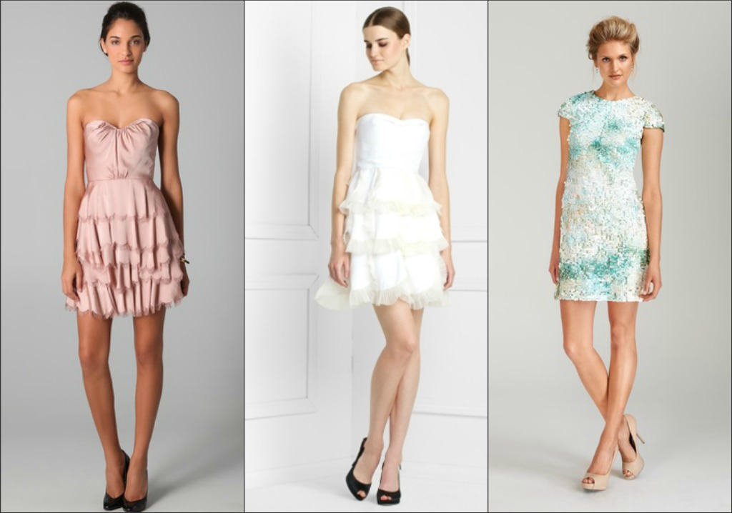 Find short formal dresses in a variety of styles, that align with the top formal trends this season at up to 65 percent off everyday retail prices at Legends Outlets Kansas City. Featured looks available at BCBGMAXAZRIA Factory and Saks Fifth Avenue OFF 5TH. (click image to enlarge and/or save.)