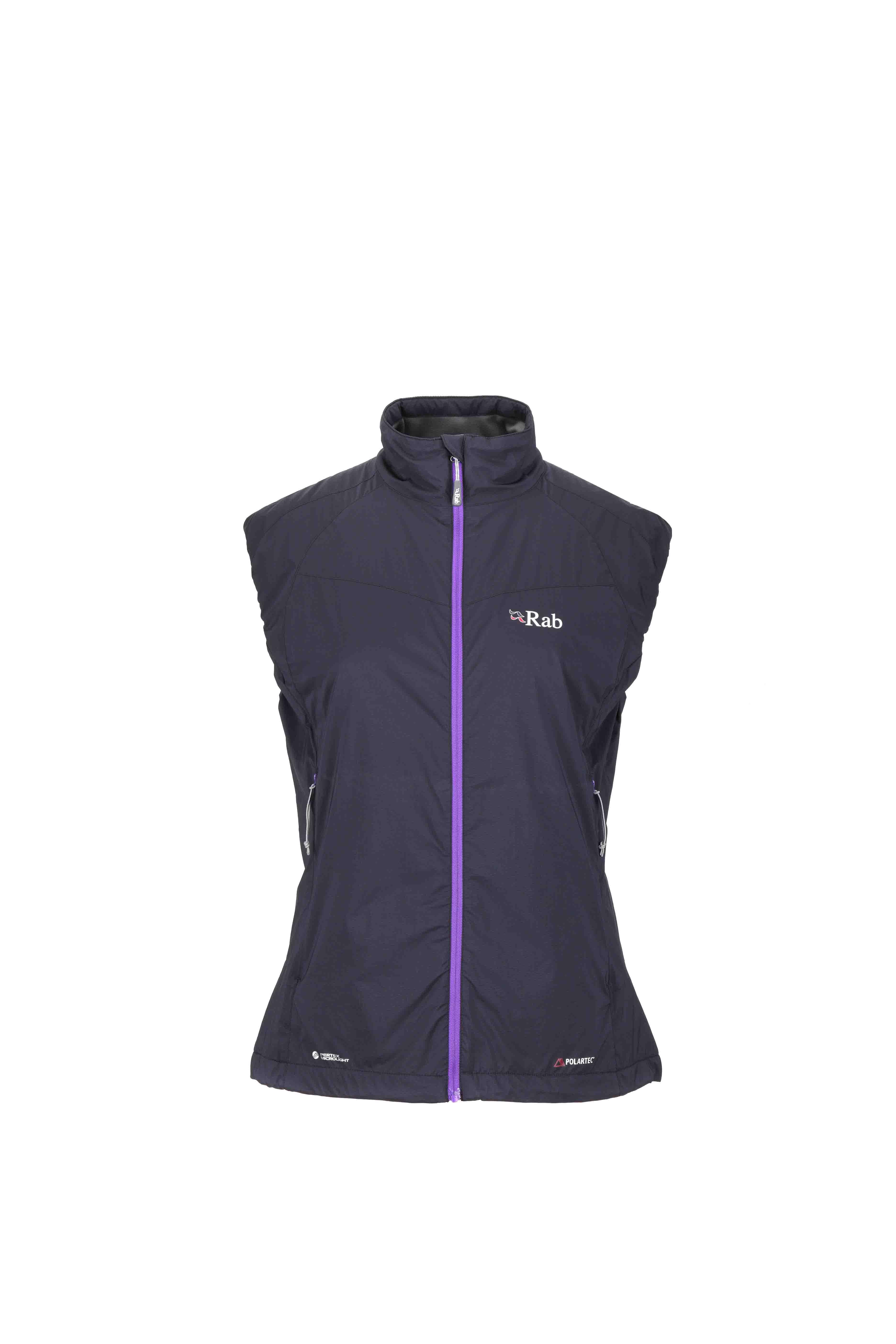 Rab women's Strata Vest with Polartecr Alphar
