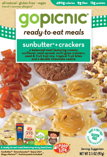 GoPicnic and Enjoy Life Foods Partner to Bring SunButter + Crackers to Consumers