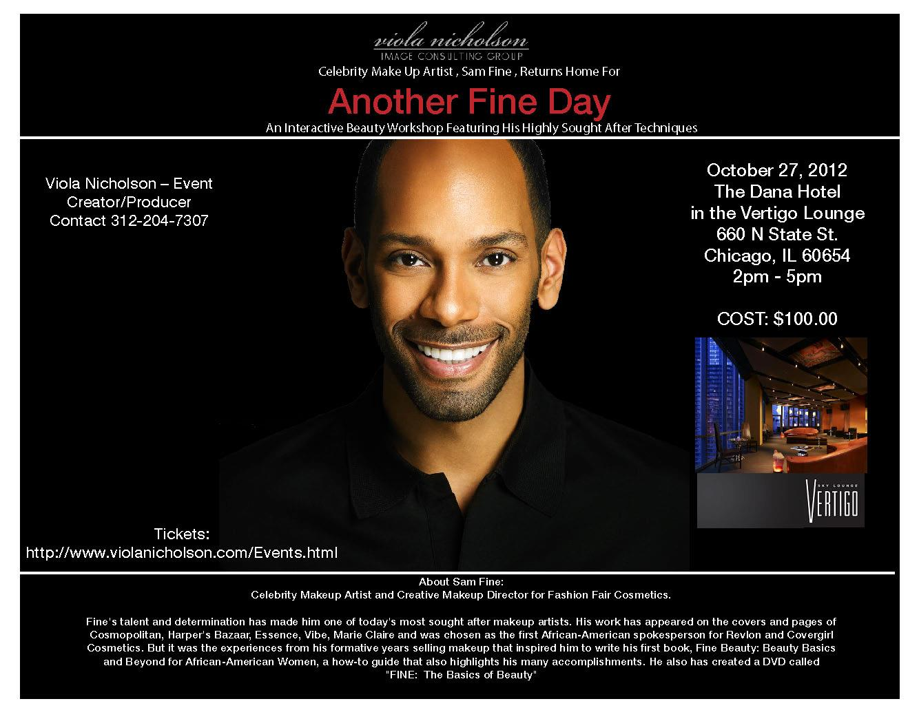 Another Fine Day Event Flyer