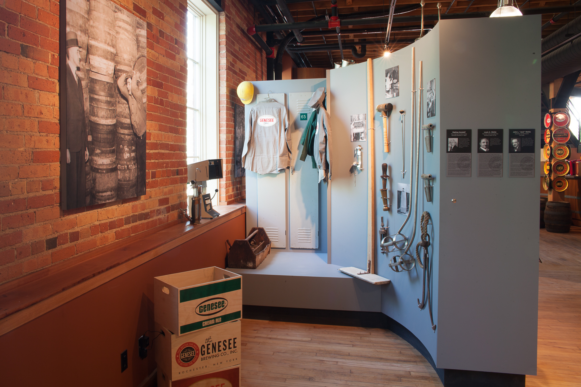 Brew House Exhibit