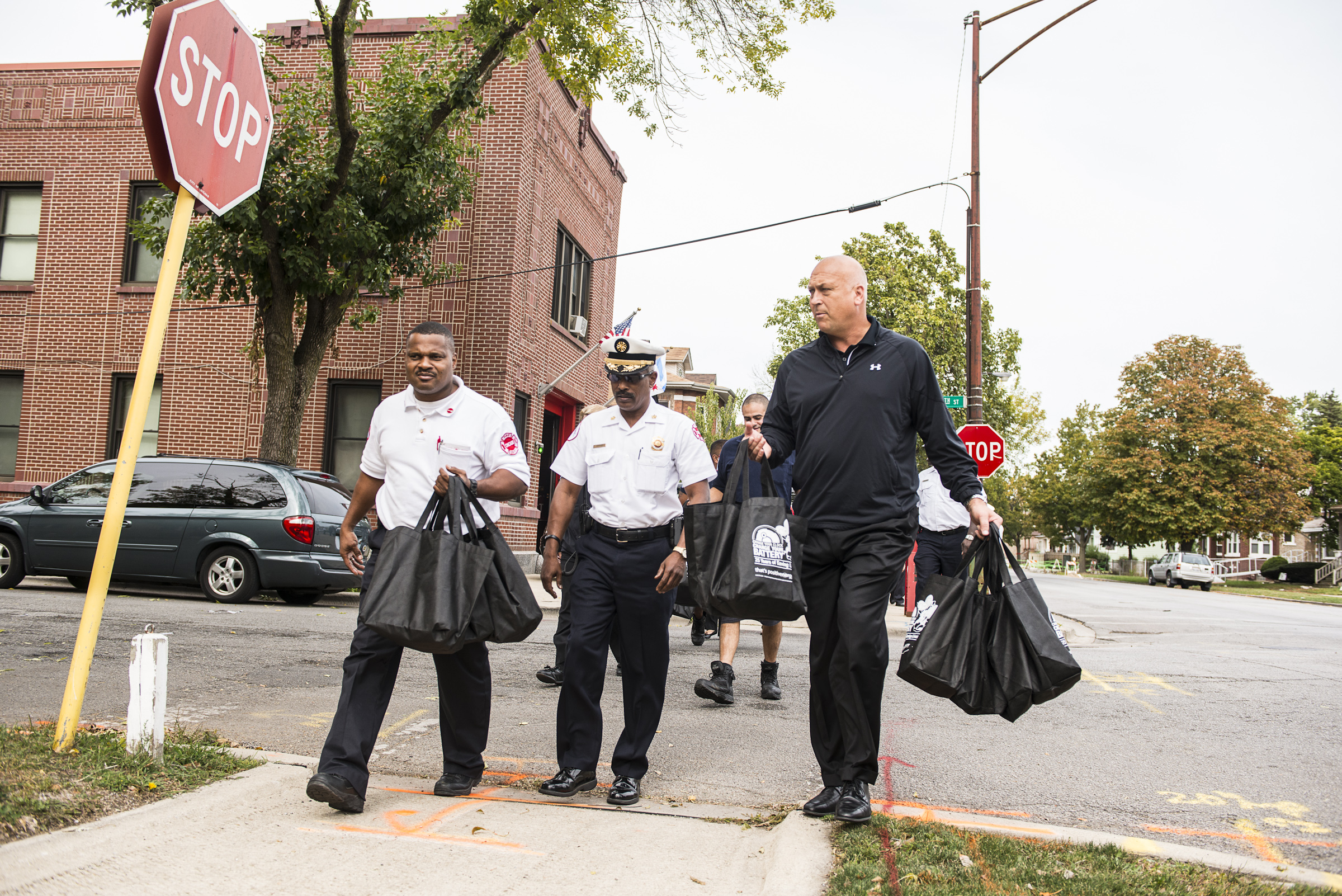Cal Ripken, Jr. joins Energizer and the International Association of Fire Chiefs in Chicago to kick off 25th year of Change Your Clock Change Your Battery, a National Fire Safety Campaign
