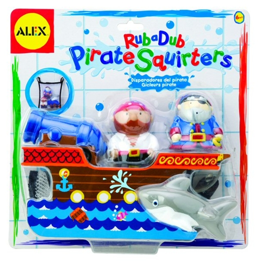 Alex Pirates Ahoy! Squirters available at Toyguru