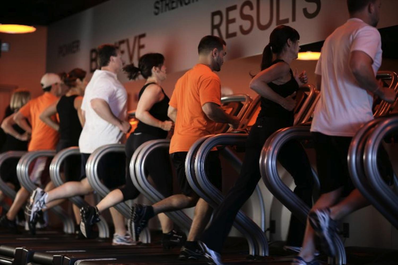 Get in your orange zone with Orangetheory Fitness