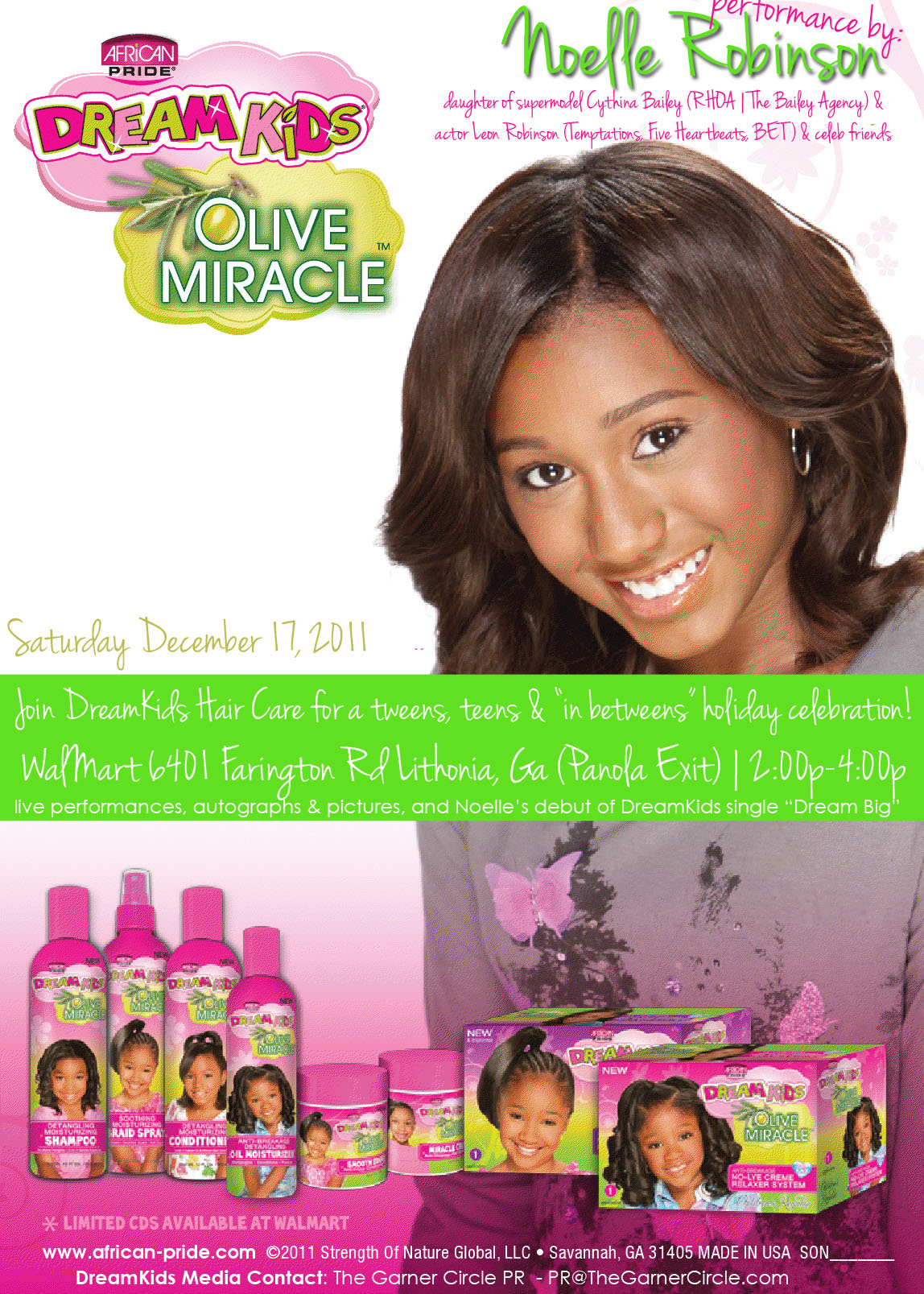 DreamKids Holiday Celebration featuring Noelle Robinson