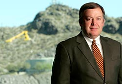 Dr. Michael Crow will speak at the Arizona Association for Economic Development luncheon on March 6 at the Phoenix Country Club.