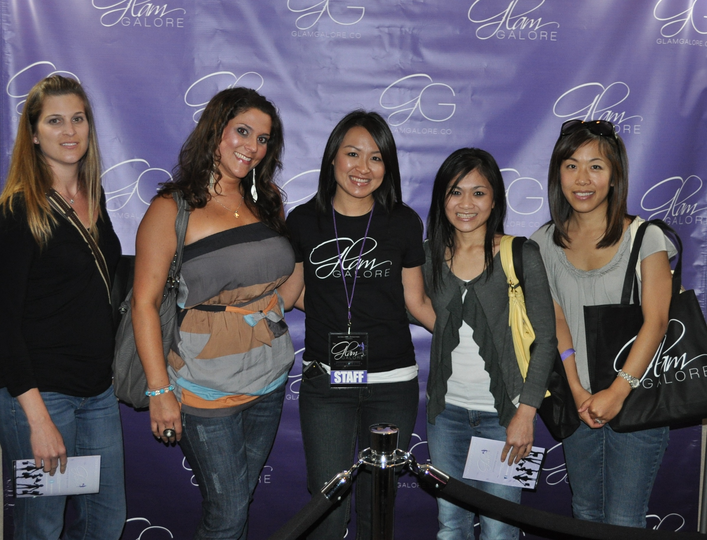 Guests at The Glam Galore Shopping Soiree 2011