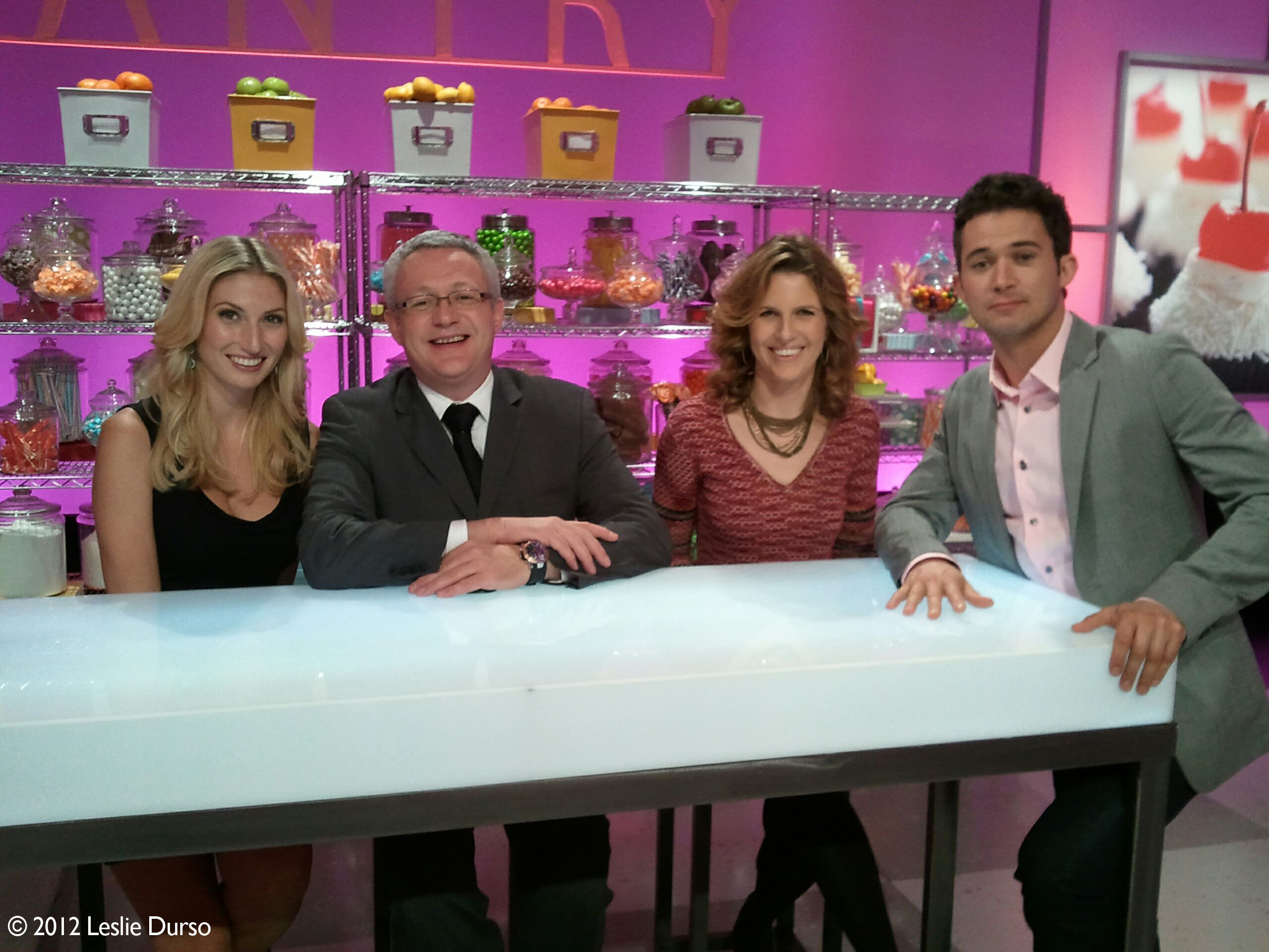Leslie Durso Appears On Food Network's First Ever Vegan Cupcake Wars