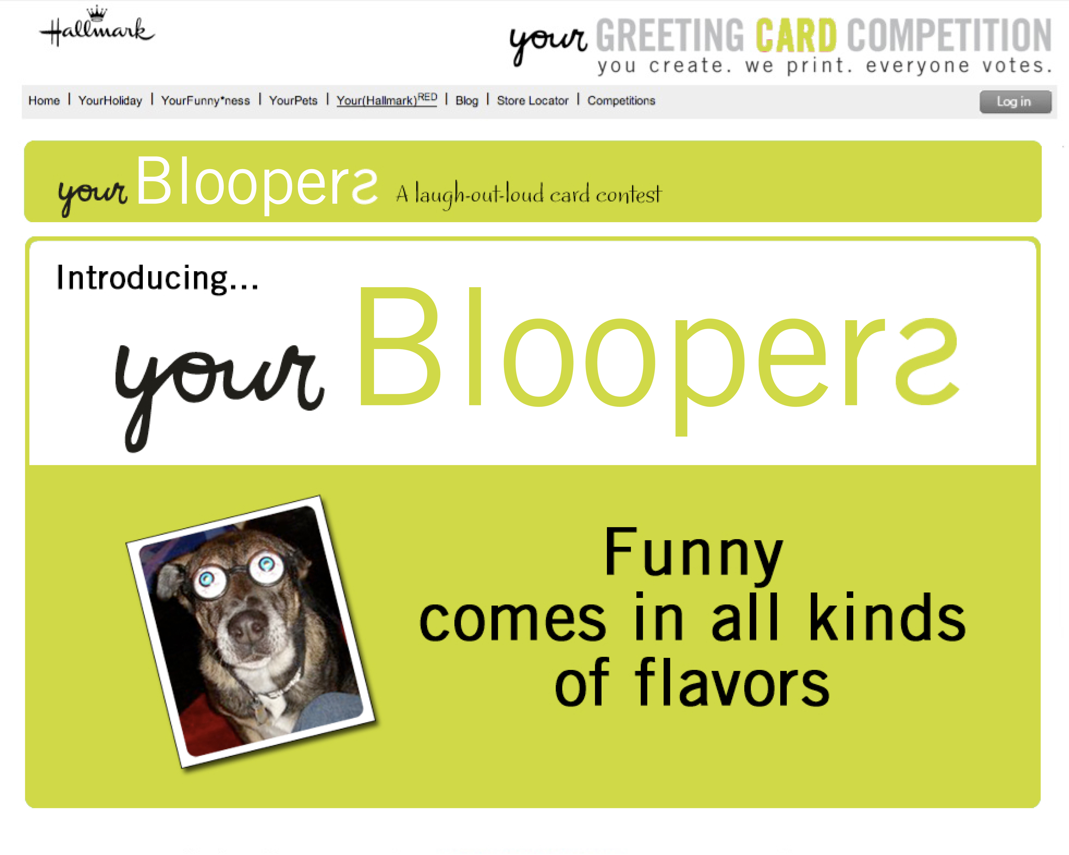 Hallmark announces finalists in blooper photo greeting card contest kristyandbryce Image collections
