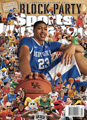Sports Illustrated NCAA Tournament Preview Features Augmented Reality Cover.