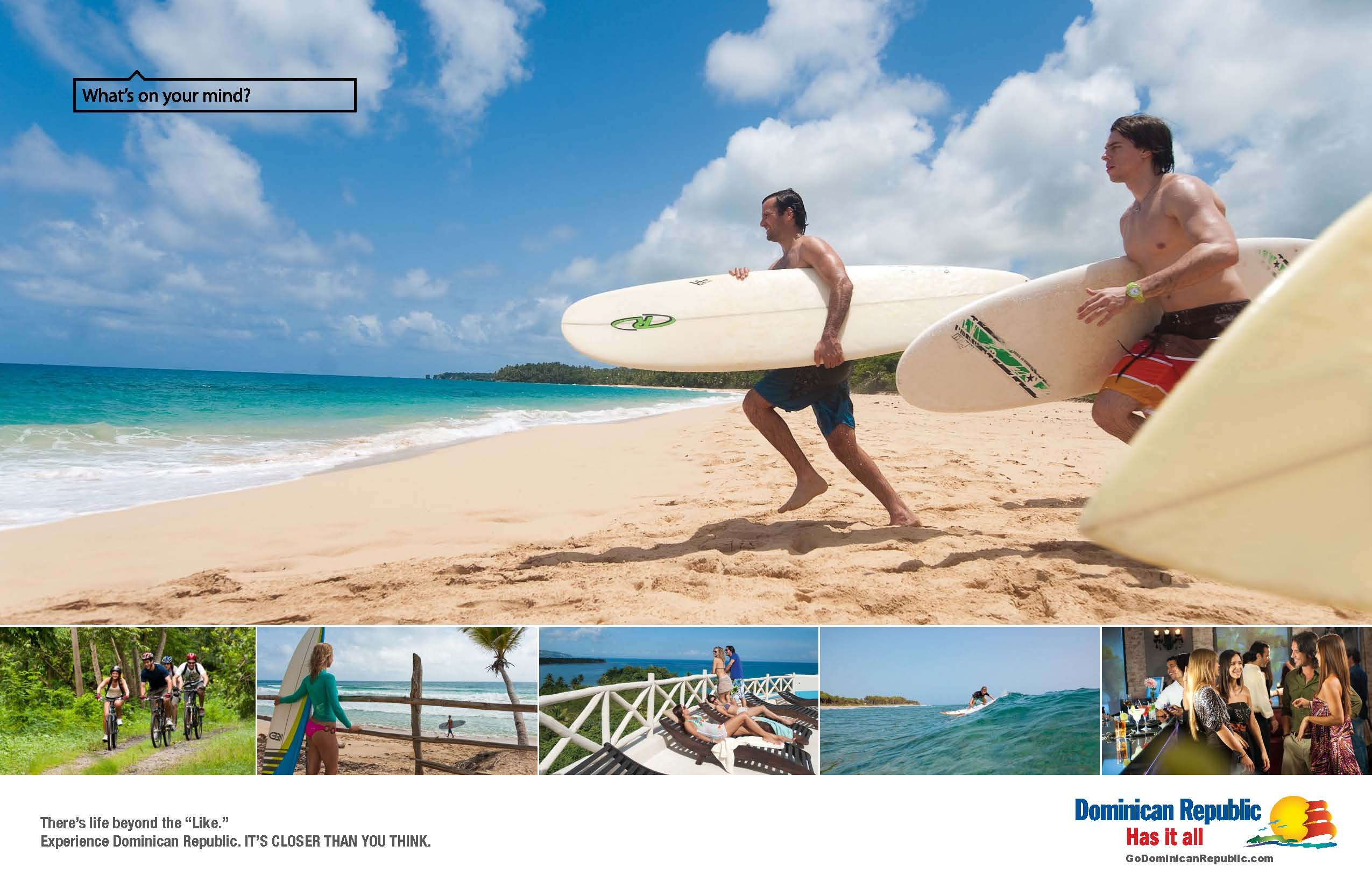 Catch your wave on Jetblue's direct flight to La Romana via JFK and enjoy Dominican Republic's surf, sun and fun!