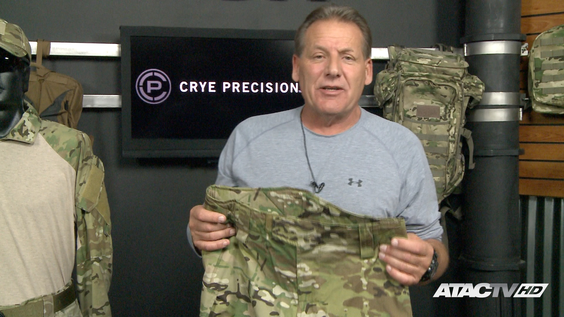 Crye Precision Combat Pants on ATAC TV Firearms Channel