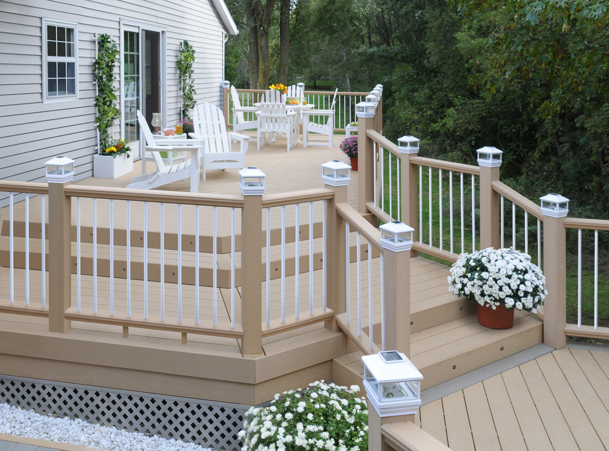 Latitudes Adds New Composite Deck Railing System Upgrades