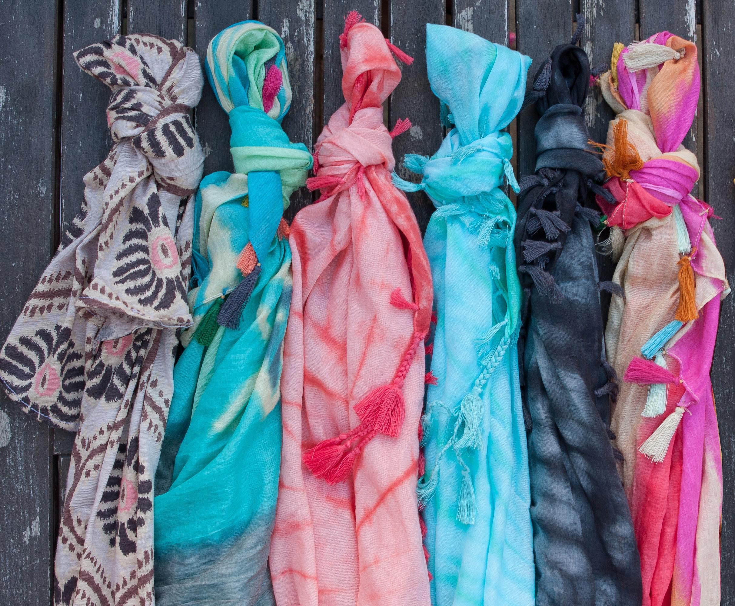 fresh produce unveils new original scarf designs