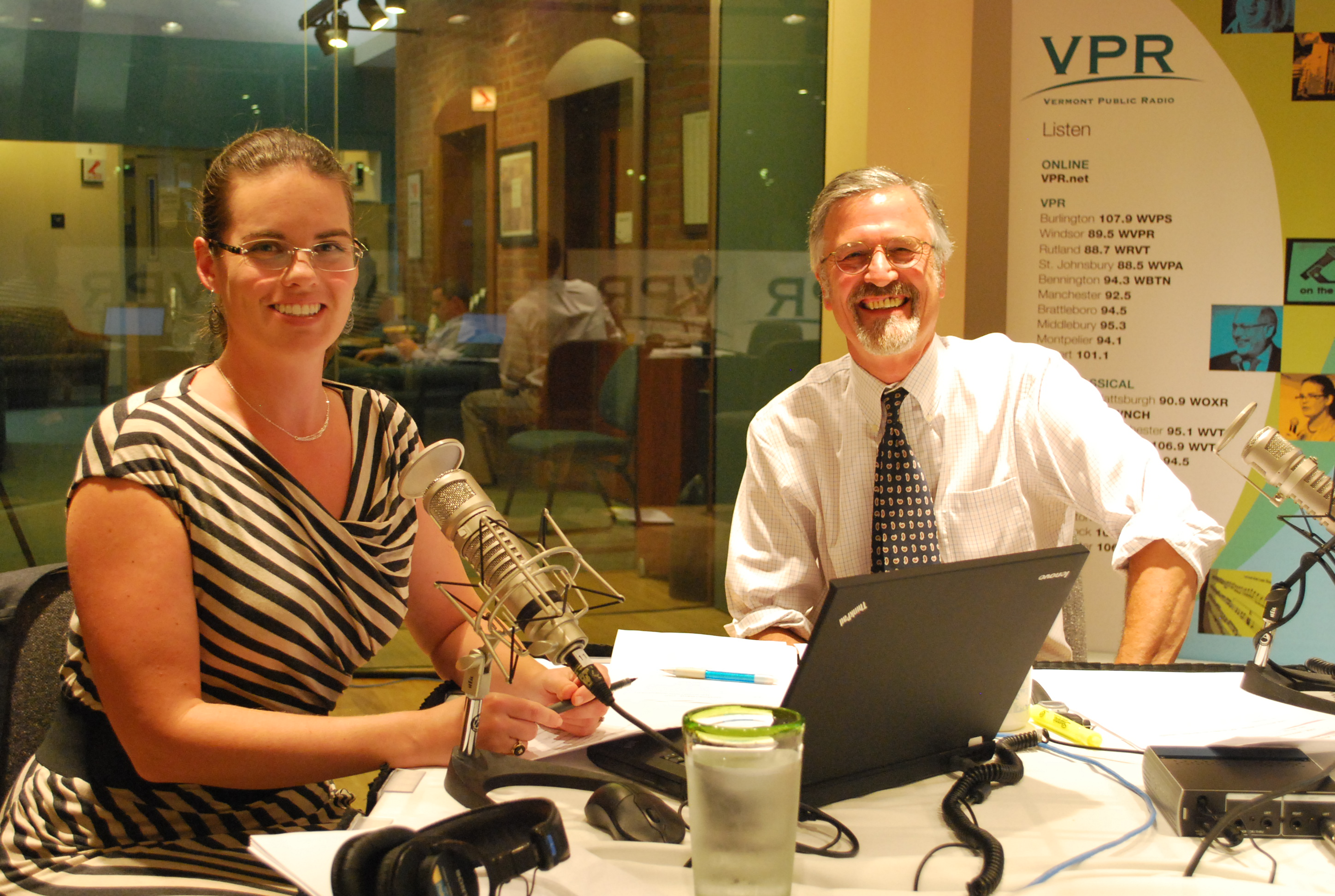VPR's Jane Lindholm and Bob Kinzel will moderate the debates.