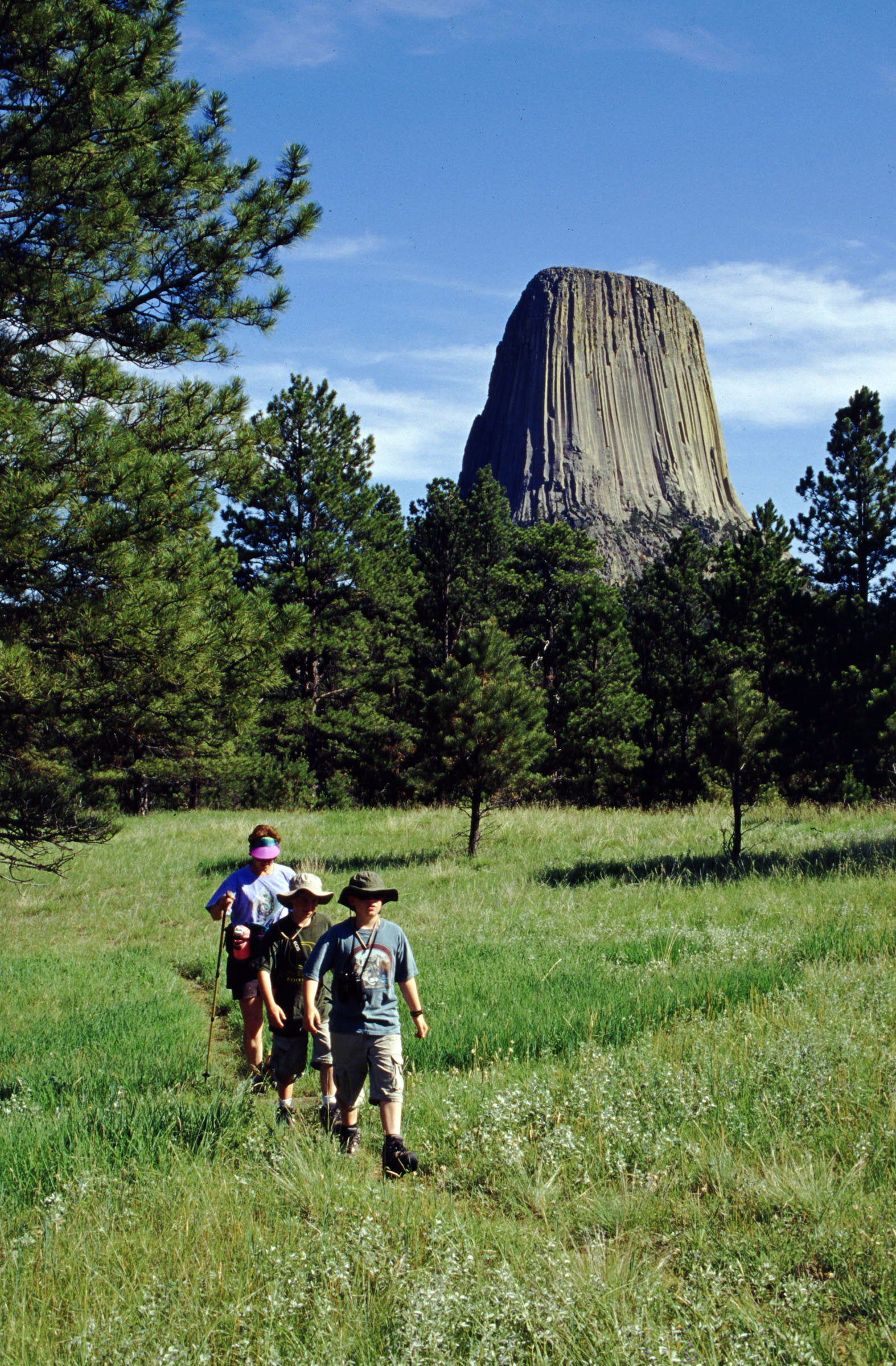 Hiking Devils Tower