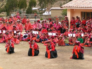 Community Party in Patacancha, Perú