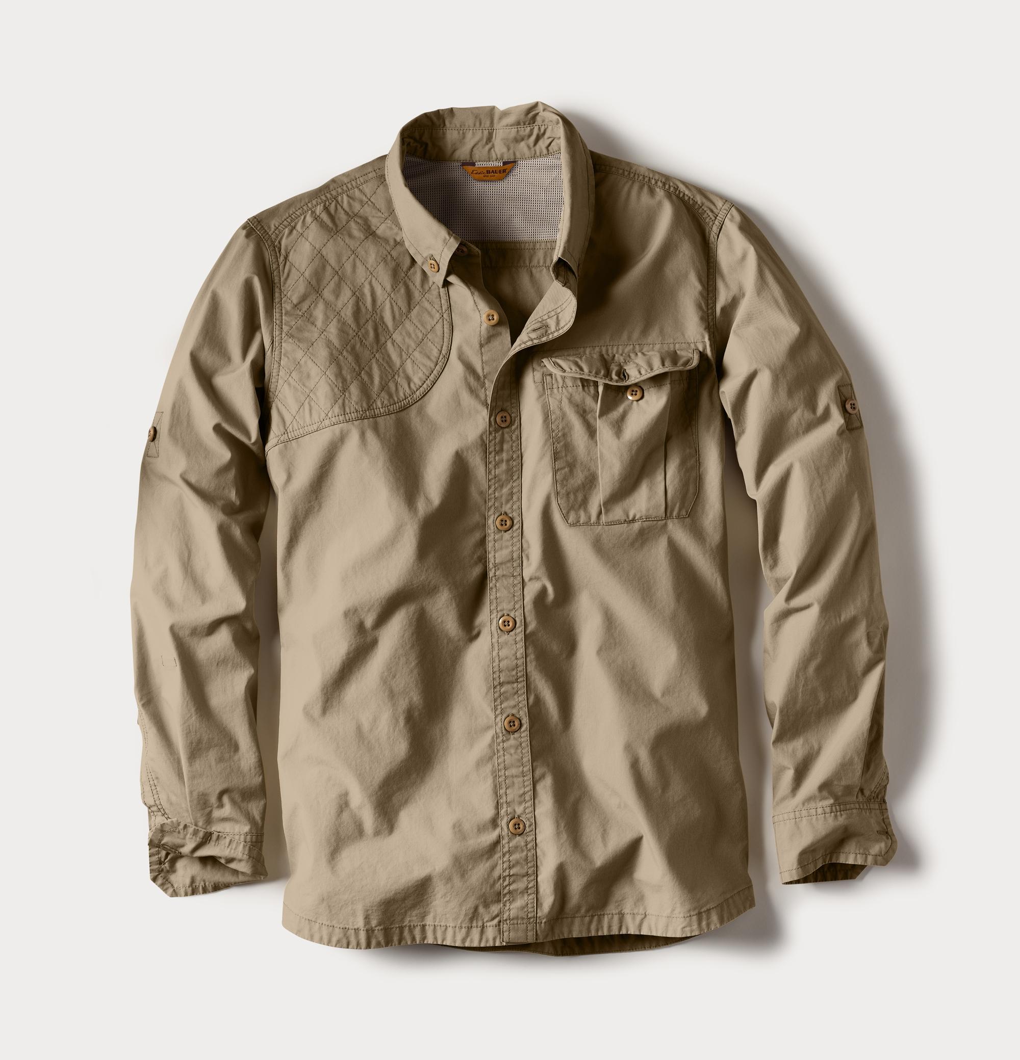 M's Palouse Long-Sleeve Shooting Shirt - Tan