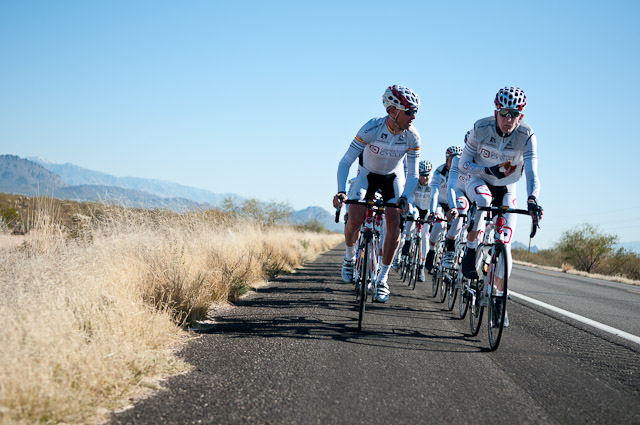 Group ride bonding. 