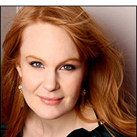 Kate Baldwin stars as Marian the librarian in THE MUSIC MAN at Arena Stage. Photo courtesy Arena Stage.