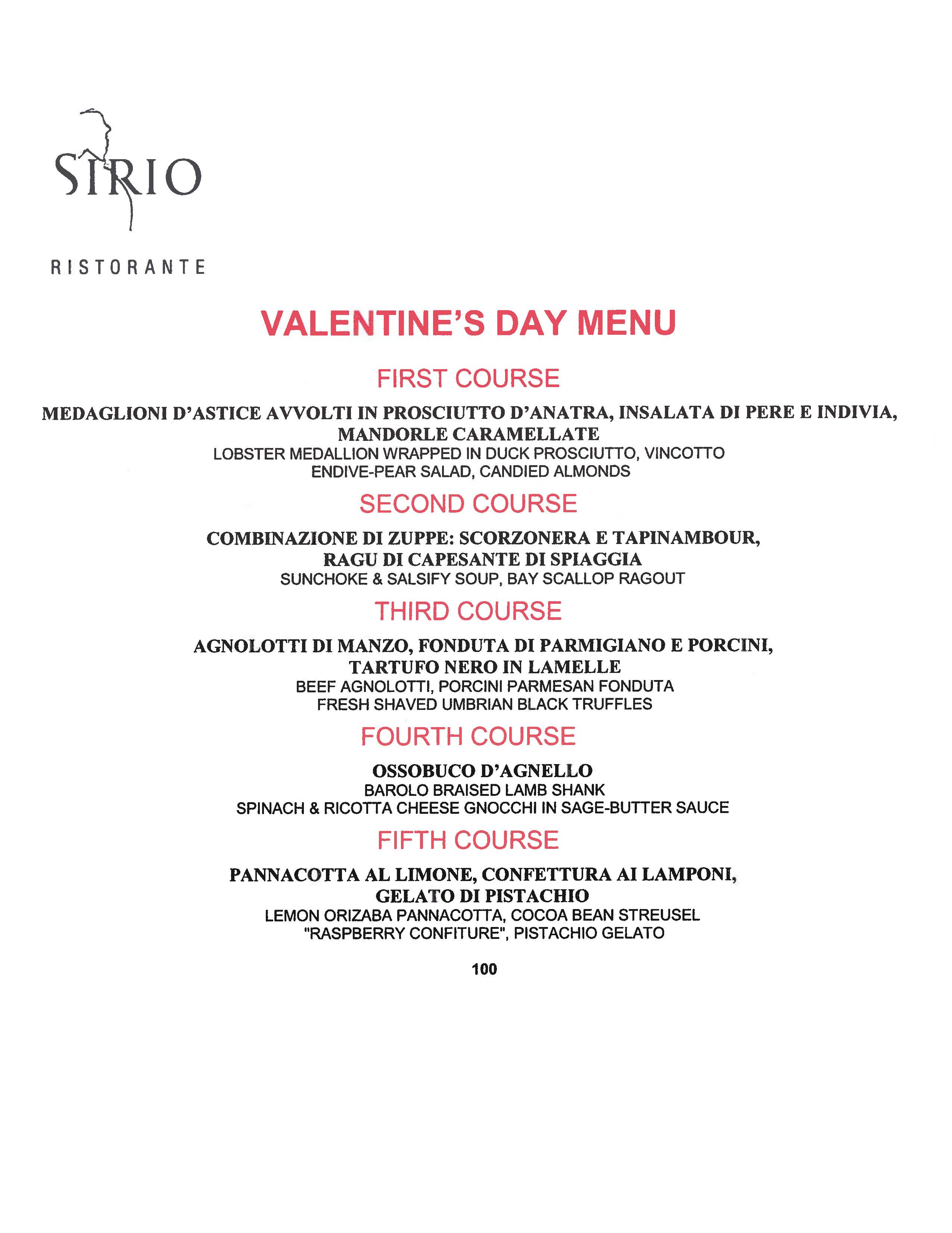 Sirio Ristorante