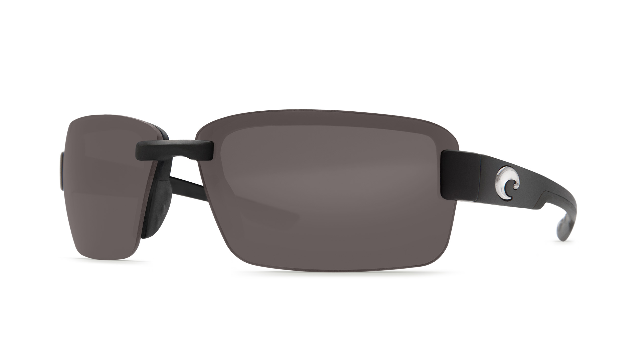 Costa's new Galveston offers a large square shape for optimal eye coverage on the water.