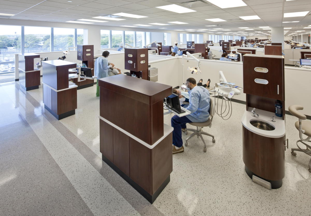Dental Operatories At The Georgia Health Sciences University College Of Medicine CDM