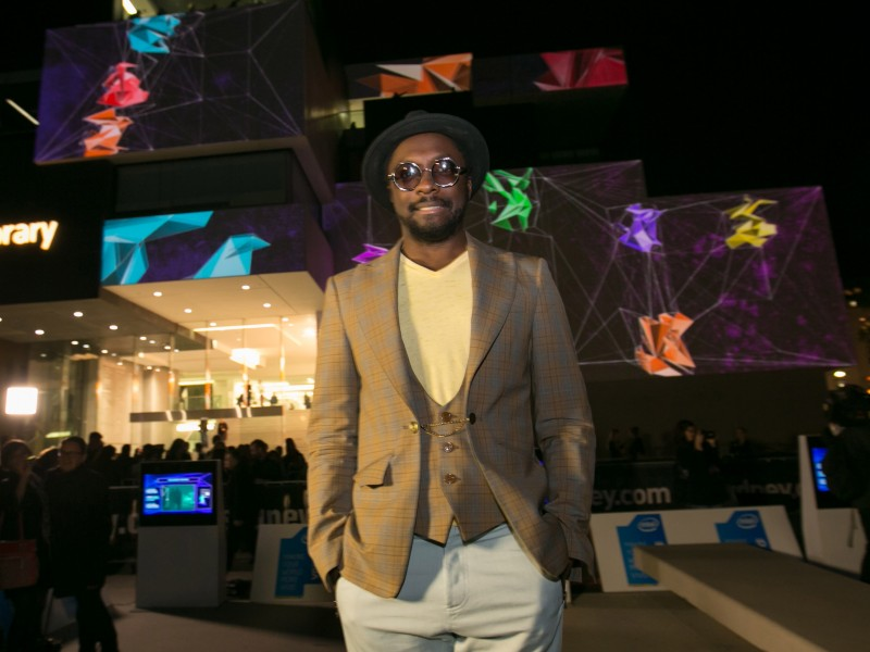 Will.I.Am at the Museum of Contemporary Art