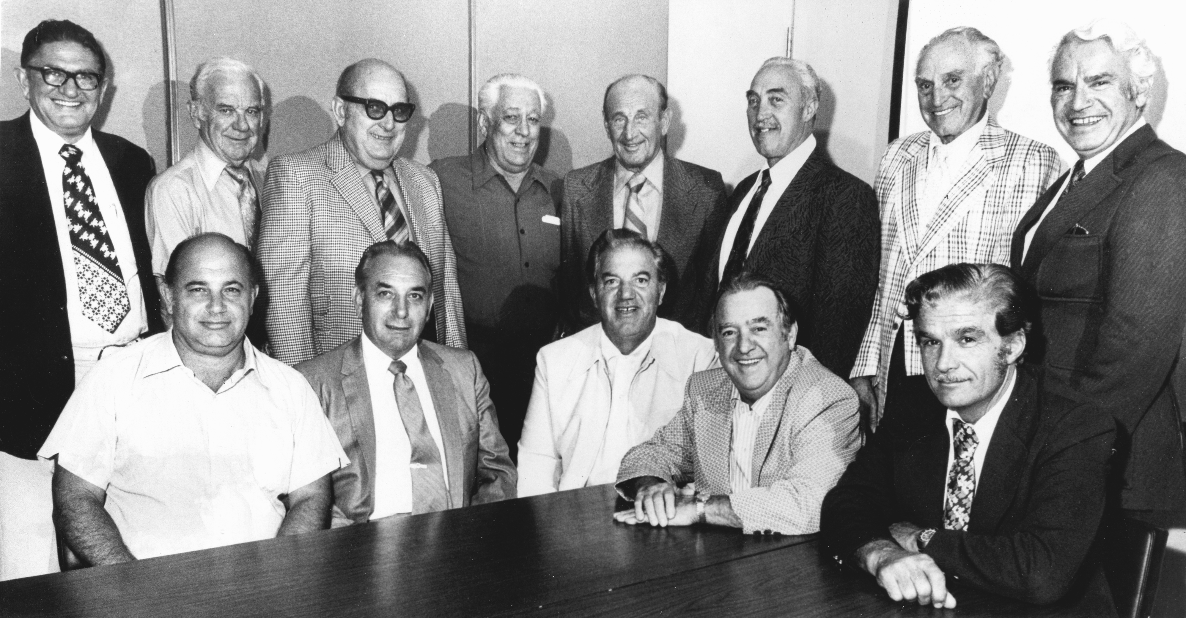 In 1955, a group of Italian-Americans from the San Francisco Bay Area come to Las Vegas to start the Golden Gate Casino. Original partners included Italo Ghelfi, Robert Picardo, Al Durante, Leo Massaro, Dan Fiorito and restaurateur Tiny Naylor.