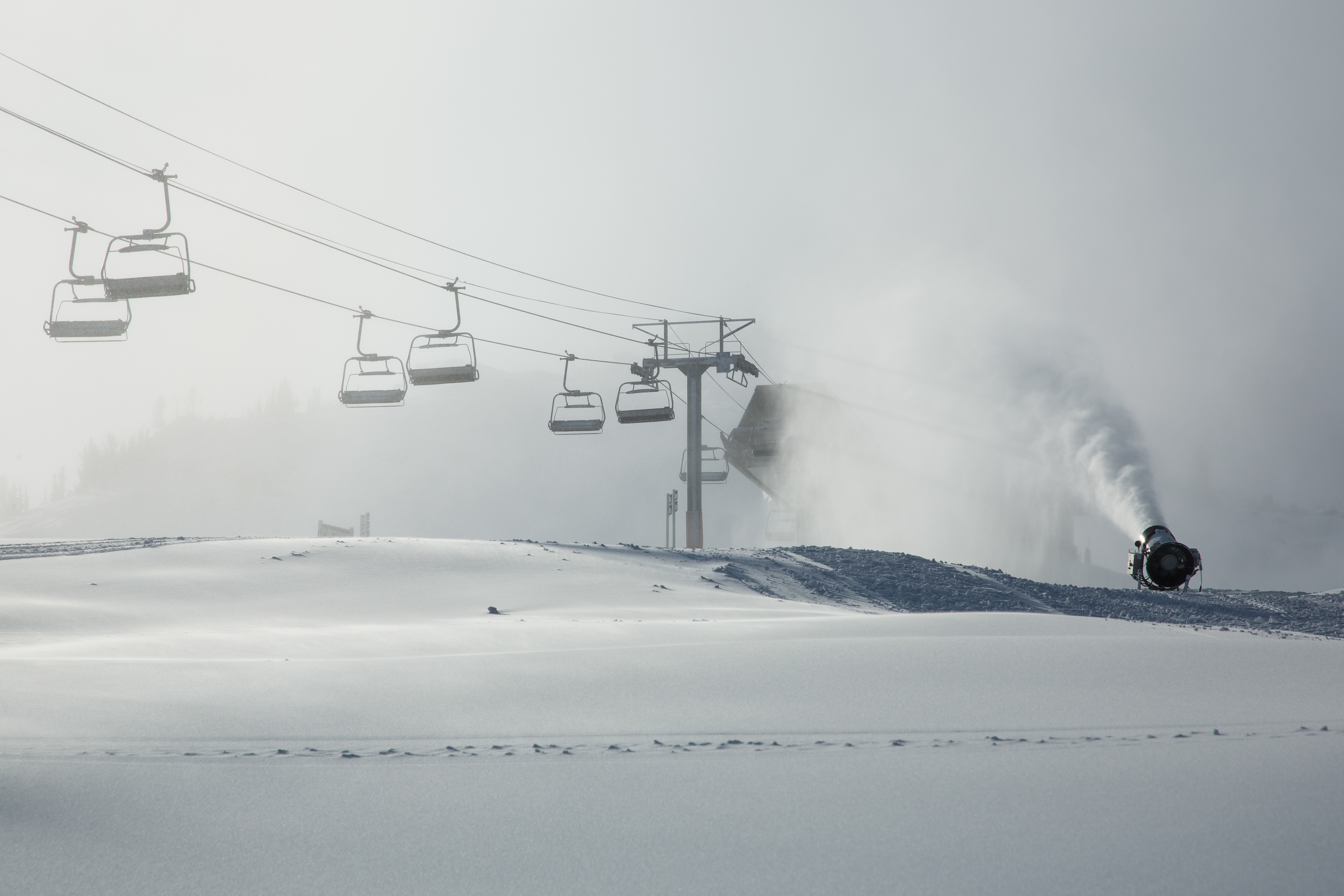 Location: At the top of Emerald Express chairlift