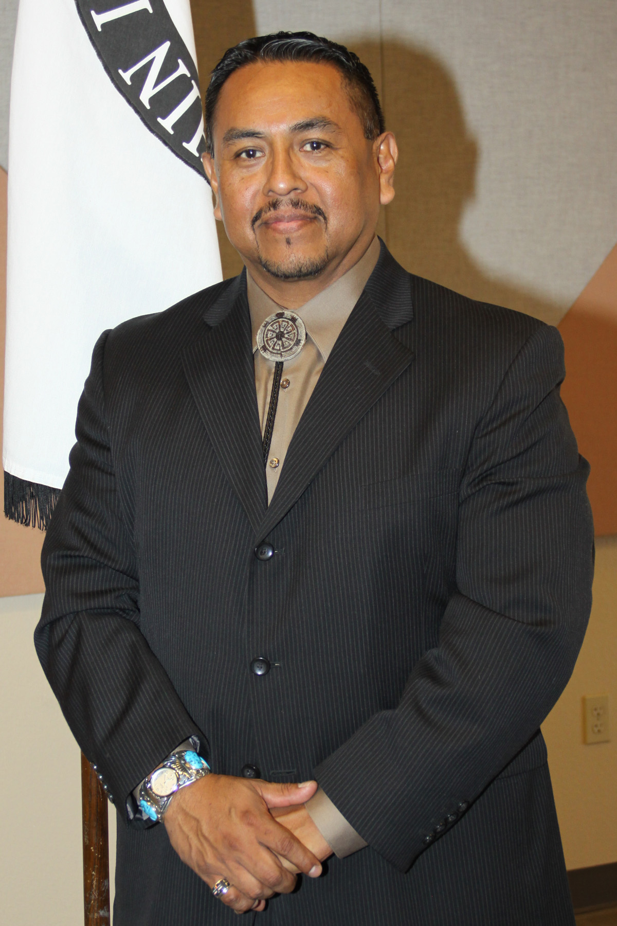 Ak-Chin Tribal Chairman Louis J. Manuel, Jr., who was also the honorary chairman of the event.
