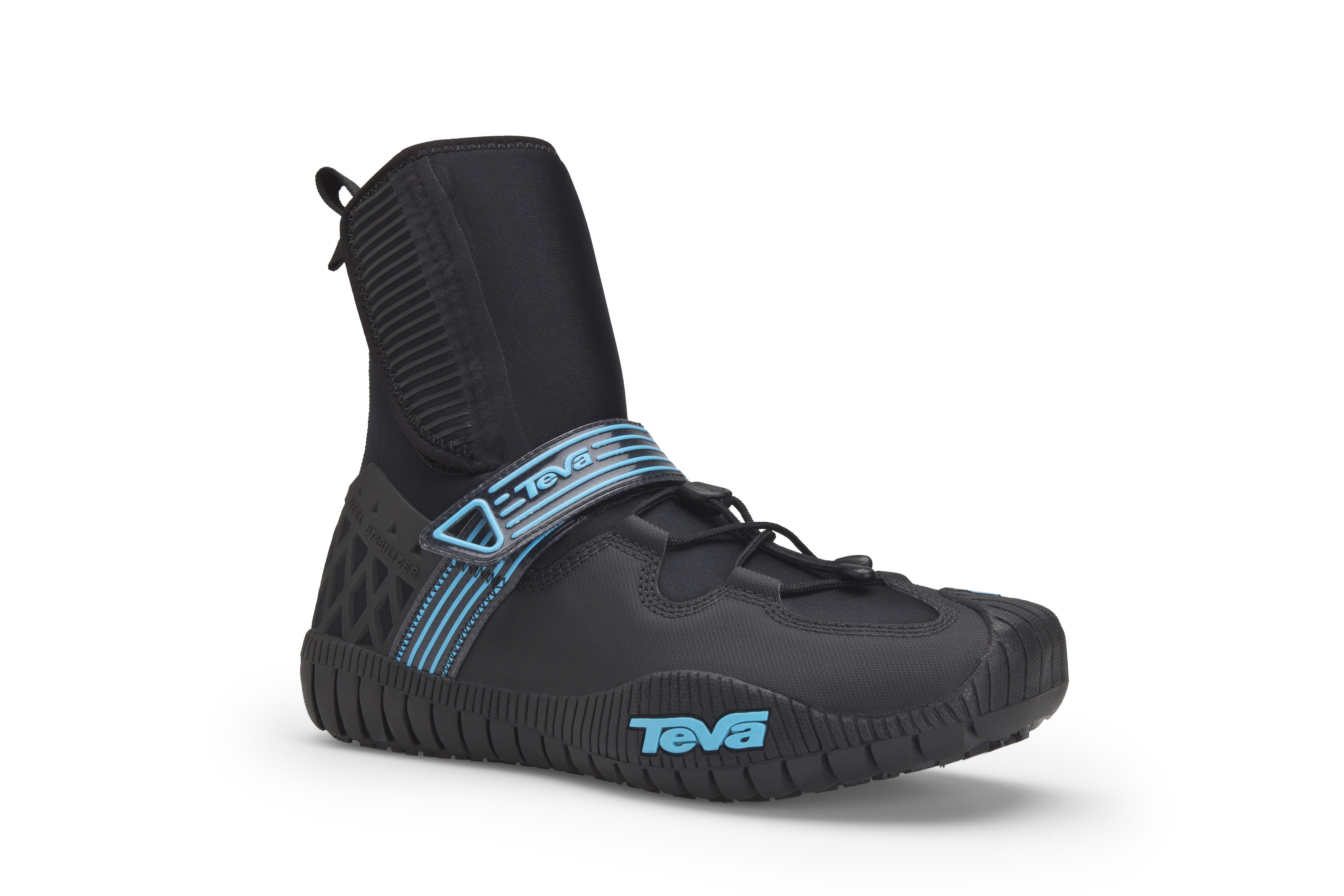 The Cherry Bomb 2 kayak bootie is from Teva's Blue Line Collection and will debut in Spring 2012.
