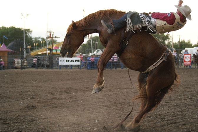 Rodeos on Sunday, Monday and Tuesdays at the 99th Fremont County Fair &amp; Rodeo July 29-31.