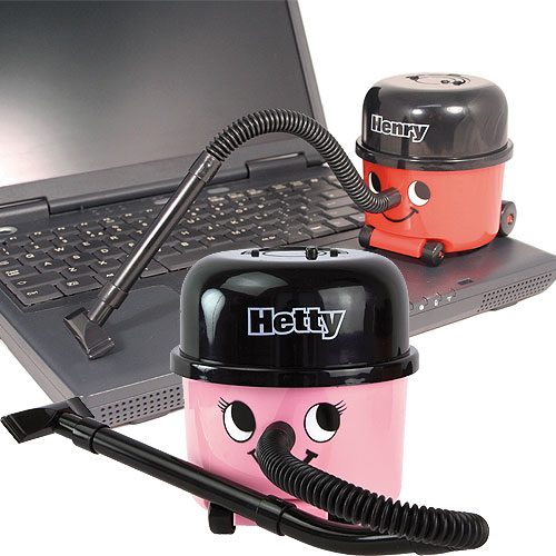 Hetty And Henry Desktop Vacuums: Super Secret Santa Gifts For Office Workers