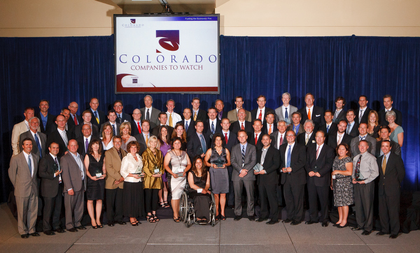Members of the 50 Colorado Companies to Watch, June 22, 2012 in Denver, CO. Photo courtesy of Steve Peterson, TerraChroma.com.