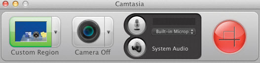 Camtasia for Mac 2.1 Recorder